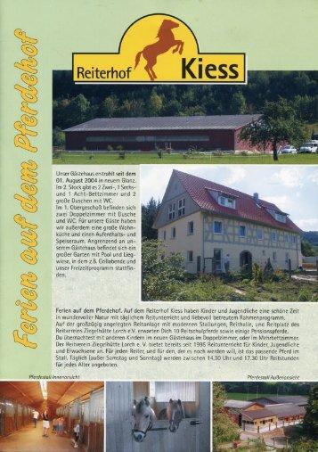 herunterladen - Reiterhof Kiess