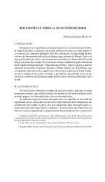 Reflexiones en torno al intuicionismo moral. - Facultad de Derecho