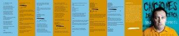 libreto CD