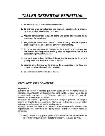 Taller despertar espiritual.pdf - Oacolombia.org
