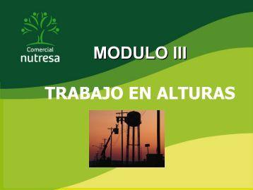 MODULO III TRABAJO EN ALTURAS