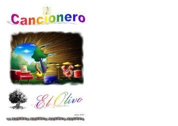 Cancionero - iglesia evangélica el olivo