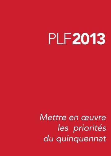 projet-loi-finances-2013-plf-missions