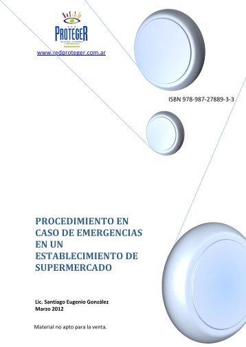 PROCEDIMIENTO EN CASO DE EMERGENCIAS ... - Red Proteger
