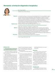 Hematuria: orientación diagnóstico-terapéutica - sepeap