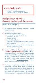 El Abuso Infantil - Page 3