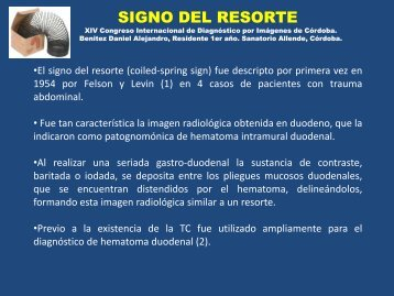 SIGNO DEL RESORTE - Congreso SORDIC
