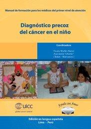 Diagnóstico Precoz del Cáncer en el Niño - Instituto Nacional de ...