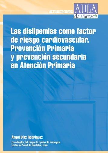Las dislipemias como factor de riesgo cardiovascular. Prevención ...