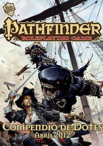 Compendio de Dotes Pathfinder RPG - Abril 2012