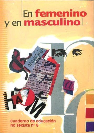 Nº 8. En femenino y en masculino - Instituto de la Mujer