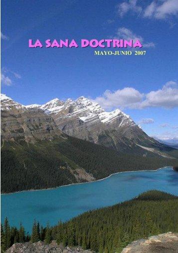 Pantalla Completa - La Sana Doctrina
