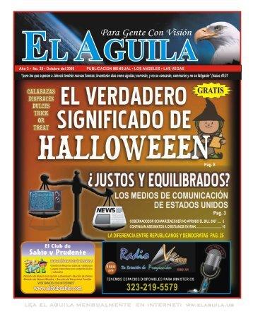 Verdadero Significado Halloween Revista Cristiana ... - Cristianos