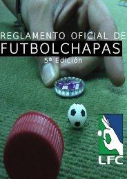 Reglamento futbolchapas - Federación Española LigaFutbolChapas