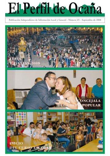 feria y fiestas 2008 - Imprenta Rubiales SL
