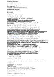 Ausschreibung für das Pferde Festival 2012 - Reiterverein St. Georg ...
