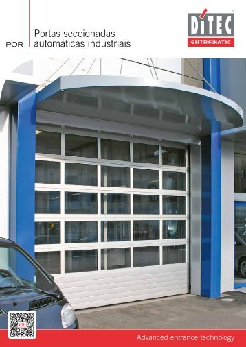 Portas seccionadas automáticas industriais - Logismarket