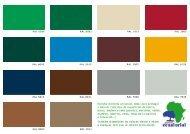 Catalogue of products - Pinturas Ecuatorial
