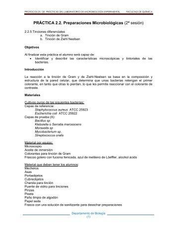protocolos de prácticas del laboratorio de microbiología ...