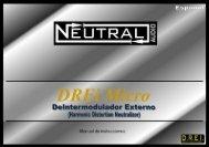 Manual de instrucciones - Neutral Audio