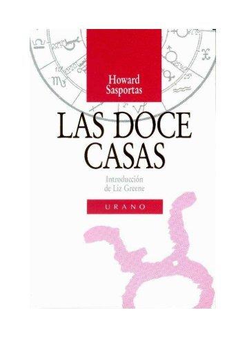 Las Doce Casas-Howard Sasportas - Biblioteca Astrología