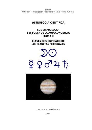 ASTROLOGÍA CIENTÍFICA (Tomo I) - sidereh