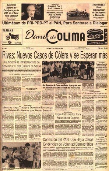 Rivas: Nuevos Casos de Cólera y se Esperan más - Universidad de ...