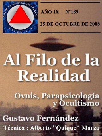 Revista AFR-189.pdf - Archivos Forteanos Latinoamericano.