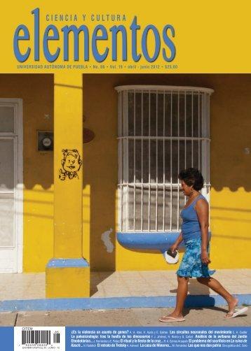 Número completo (6.97 Mb) - Revista Elementos - Benemérita ...