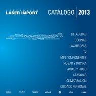 descarga de catálogos - Laser Import