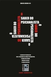 O saber do psicanalista - Campo Psicanalítico