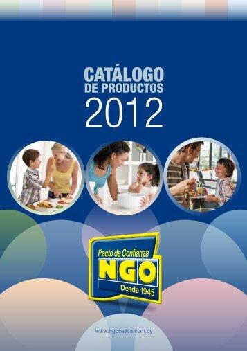 CATÁLOGO - NGO