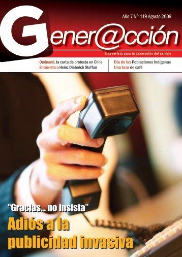 Adiós a la publicidad invasiva Adiós a la ... - Generaccion.com