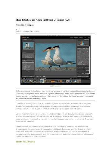 Flujo de trabajo con Adobe Lightroom (3) - agrupacion fotografica l ...