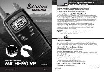 90VP Spanish - Cobra Electronics