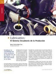 Insumos - Lubricantes: El Sistema Circulatorio de la Produccion