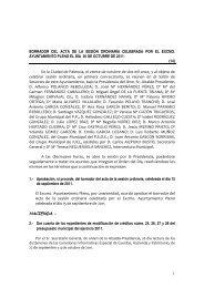 HACIENDA.- - Ayuntamiento de Palencia