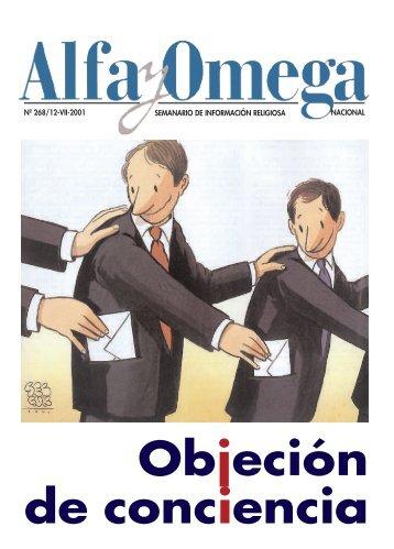 nacional semanario de información religiosa nº - Alfa y Omega