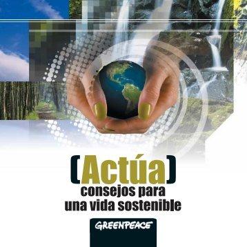 Actúa - Greenpeace