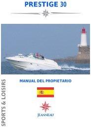 Manual del propietario - Chantier Naval JEANNEAU