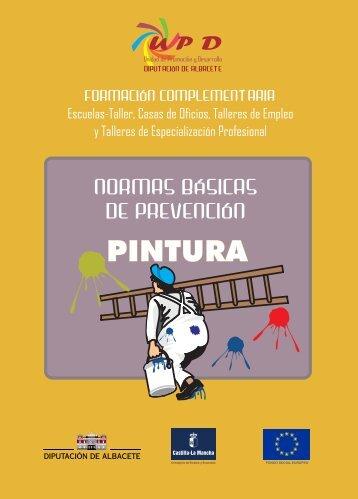 normas pintura - Diputación Provincial de Albacete
