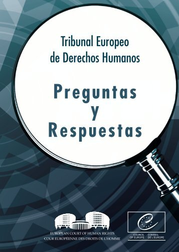 Tribunal Europeo de Derechos Humanos - Council of Europe
