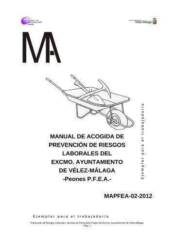 Manual de acogida para personal del PFEA - PER