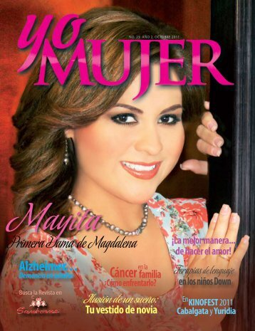 Primera Dama de Magdalena Cáncer - Revista Yo Mujer