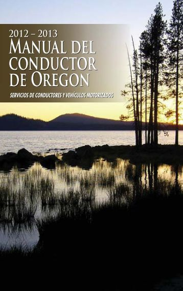 Manual del conductor de Oregon - Oregon Department of ...