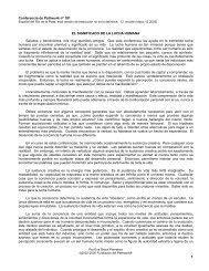 El significado de la lucha humana - Pathwork México