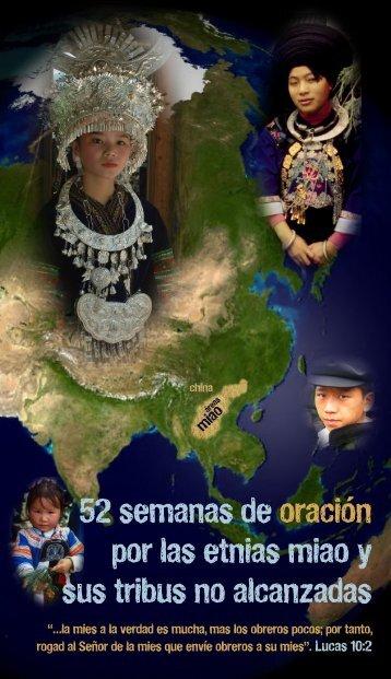 52 semanas de oración por las etnias miao y sus tribus no alcanzadas
