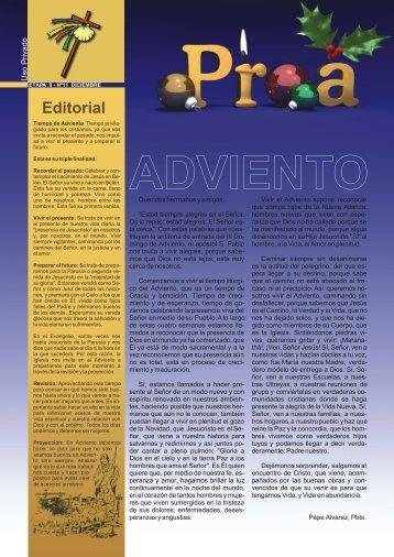 Editorial - Cursillos de Cristiandad de Madrid