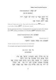 Siddur 02 Yom Shabbat.pdf - Wisdom In Torah