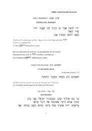 Siddur 01 Erev Shabbat.pdf - Wisdom In Torah